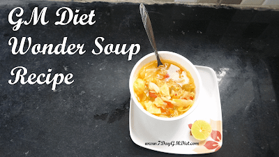 GM Diet Wonder Soup Recipe
