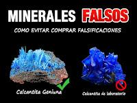 Minerales Falsos  - mini guia - foro de minerales