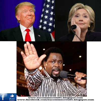 Donald Trump, Hillary Clinton, Prophet T.B Joshua and the USA 2016 Elections. What happened to the prophecies?