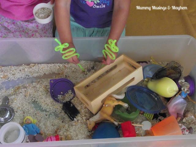 Toddler Fine motor sensory fun