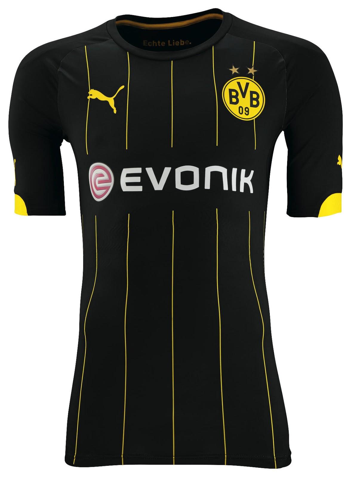New Borussia Dortmund 14-15 Kits Released