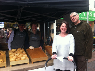 great north pie company, wilmslow artisan market