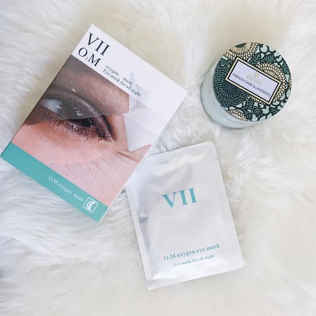 Overnight Oxygen Eye Mask   VIIcode Skin Care Review