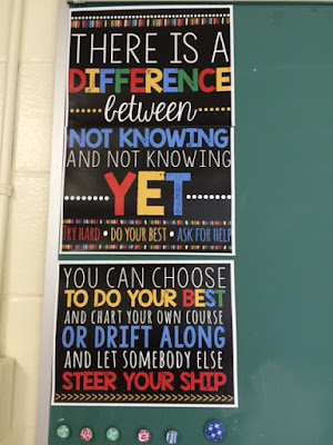 Classroom decor for high school