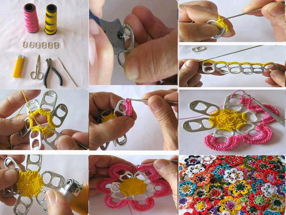 bottle opner makes flower