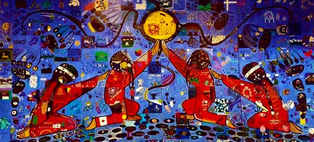 Simone McLeod mural