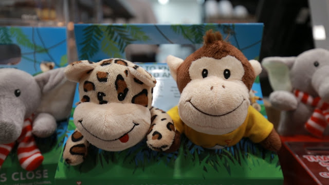 cuddly jungle themed toys available to buy at Mc Donalds