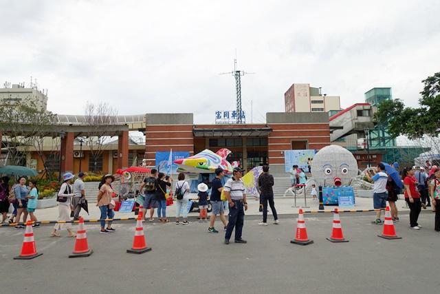 桃園富岡火車站~2018桃園地景藝術節