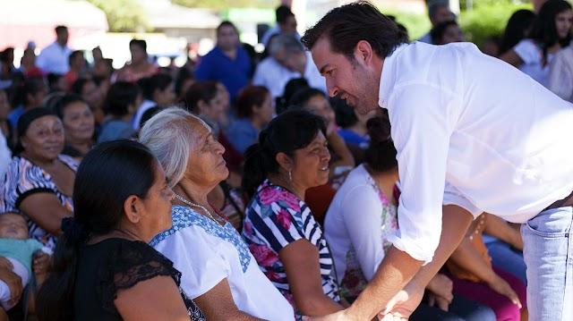 Por todo el estado se palpan beneficios del trabajo de Pablo Gamboa