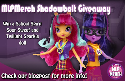 All About MLP Merch Shadowbolt Giveaway!