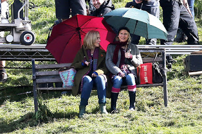"Renee Zellweger and Patrick Dempsey in the film ""Bridget Jones ' Baby"""