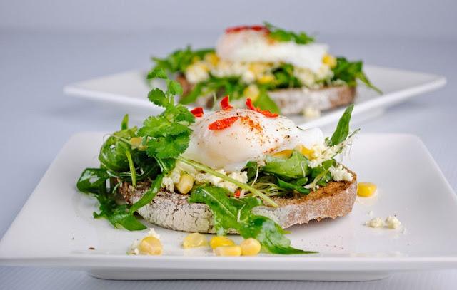 healthy breakfast sandwich recipes, roast beef panini, egg  greens goat cheese breakfast sandwich