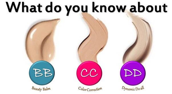 Perbezaan Antara Foundation, BB Cream, CC Cream, DD Cream, dan EE Cream