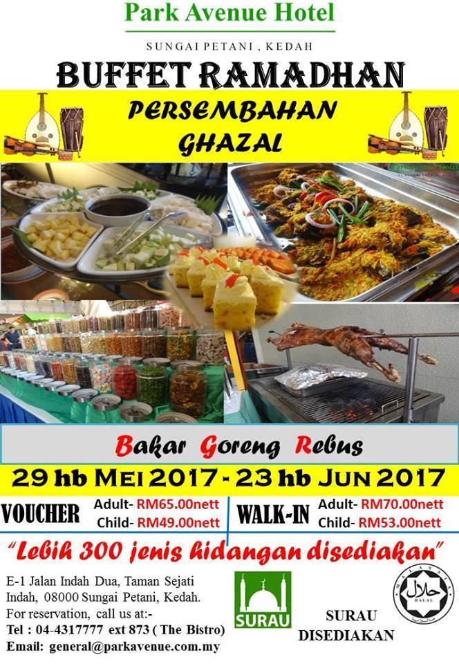 buffet ramadhan park avenue hotel sungai petani kedah