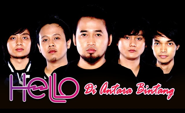 Lirik : Hello - Di Antara Bintang