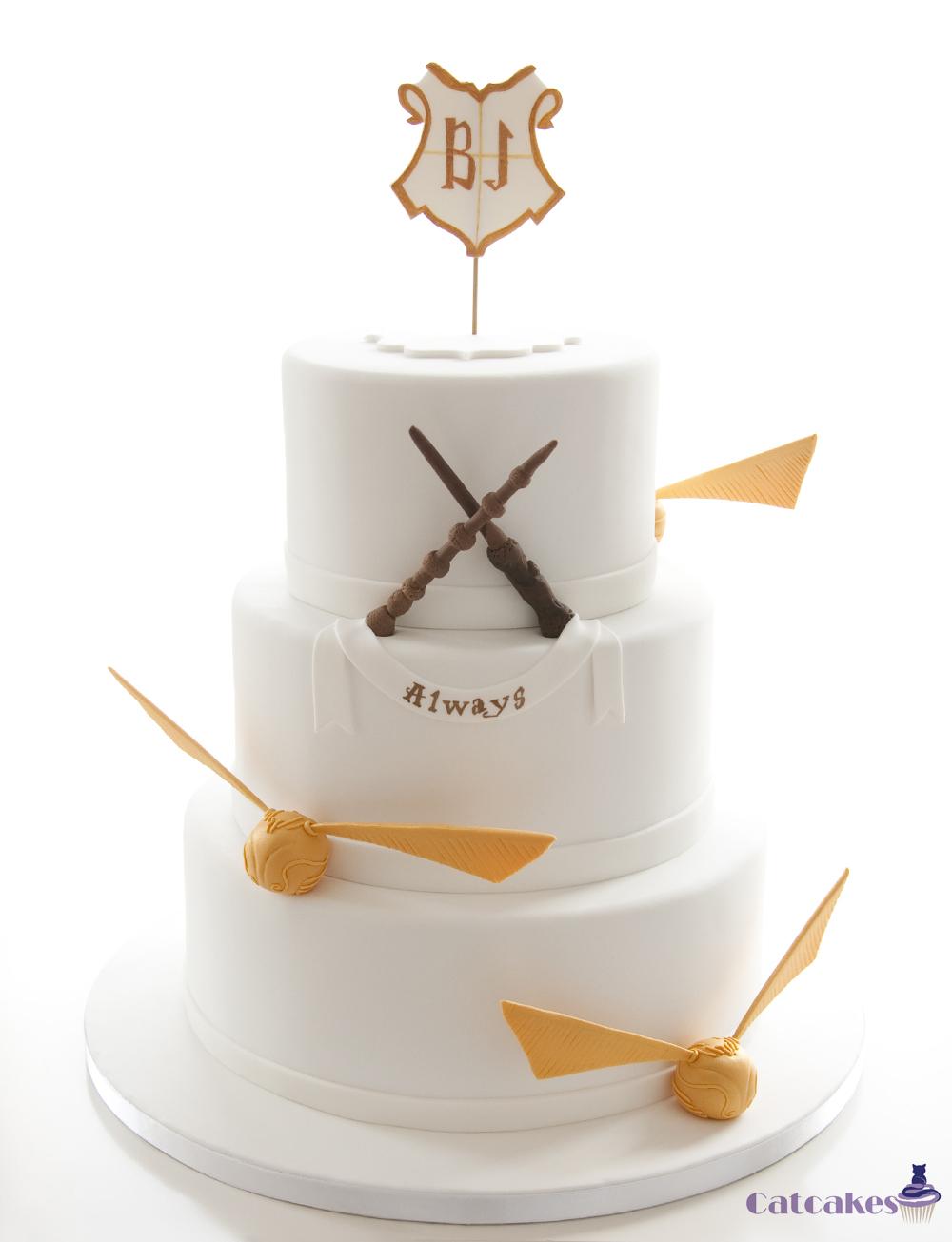 Tarta de boda temática Harry Potter