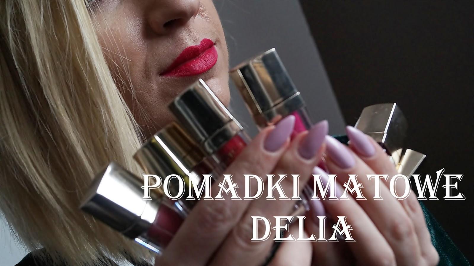 Pomadki matowe od- Delia