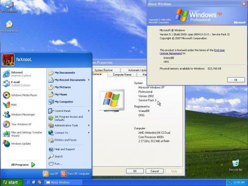 Windows XP Professional SP3 Nov 2013 Incl SATA Drivers