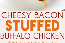 Cheesy Buffalo Stuffed Chicken Breast