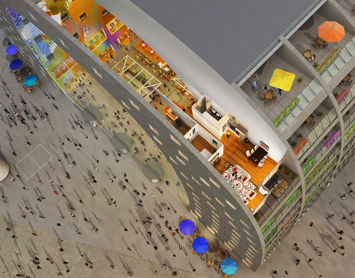 07-Living-Markthal-Apartments-Market-Shops-and-Catering-Parking-www-designstack-co