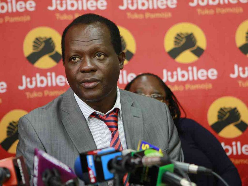 Jubilee Party Finally Responds To The Cambidge Analytica Scandal