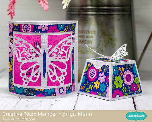 Butterfly Gift Set - Lori Whitlock Creative Team Project