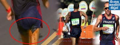 French Olympics walker Yohann Diniz poos himself mid-race… But still carries on - Rio 2016