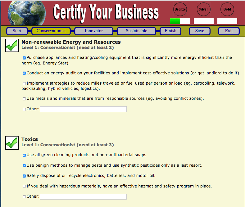 Sustainability Alliance Benefits Of Certification