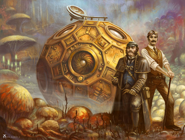 Illustration Art Steampunk