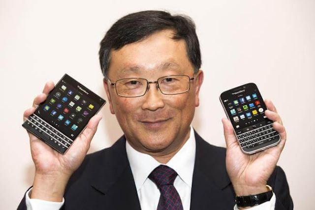 John chen Giveaway, Win free Blackberry Every Month