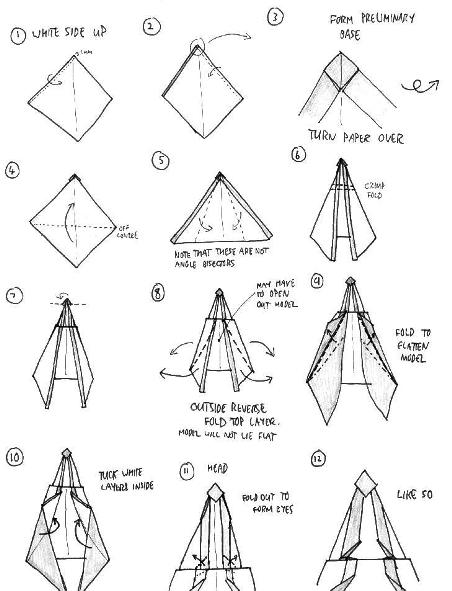 Origami Bow And Arrow Psychologyarticles Info