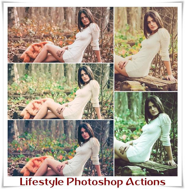 5 бесплатных экшенов для Фотошопа