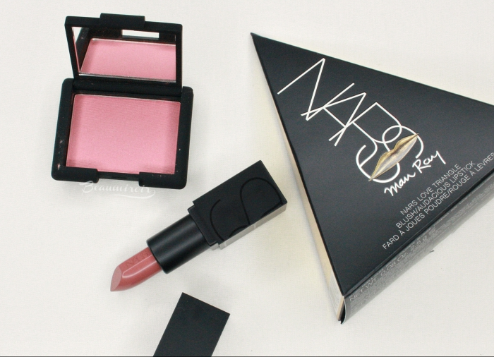 nars man ray love triangle deep throat blush barbara audacious lipstick