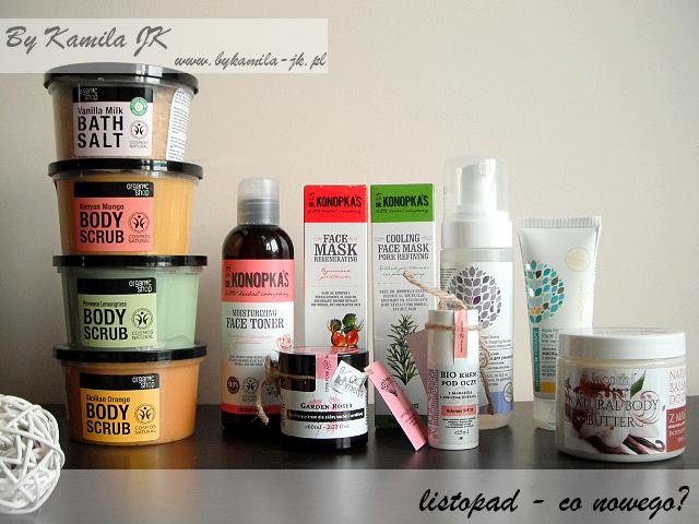 Kosmetyki naturalne Organic Shop Make me Bio Dr Konopka's Nacomi Organic Therapy Garden Rose woda różana