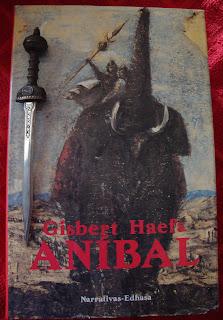Portada del libro Aníbal, de Gisbert Haefs