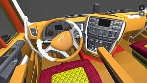 Iveco Hi-Way interior v2.0 by azrail_97