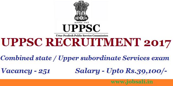 UPPSC Jobs, UP Govt Jobs, UPPSC Exam