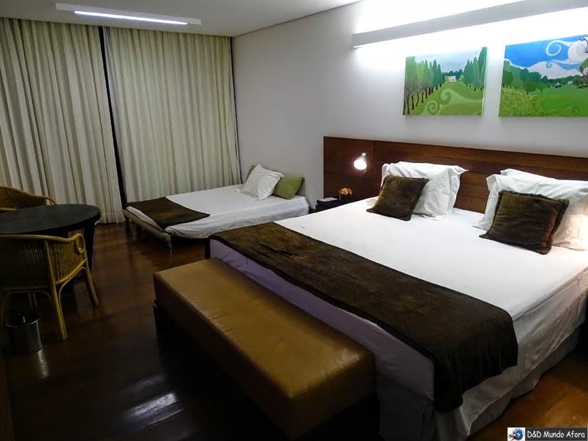 Quarto do hotel Garden Hill - Onde ficar em São João Del Rei