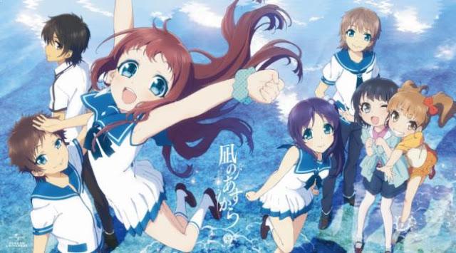 Nagi no Asukara - Daftar Anime Fantasy School Terbaik