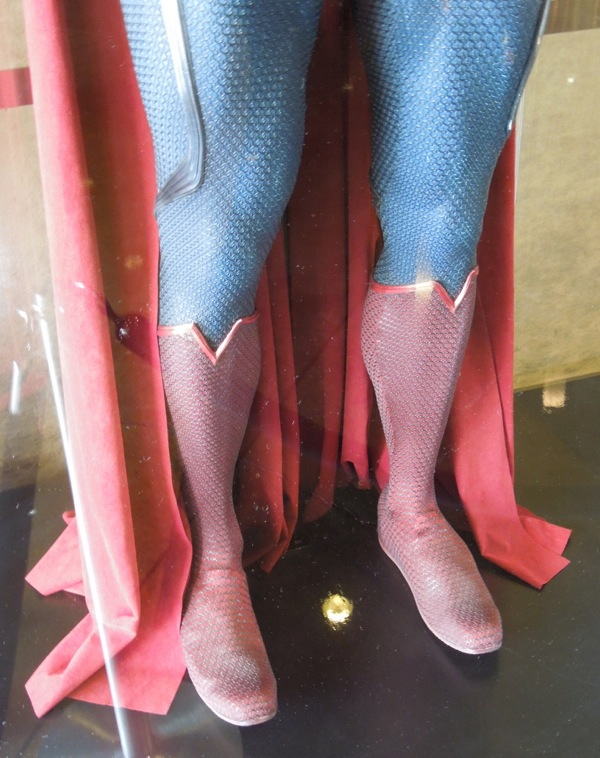 Superman Man of Steel boots