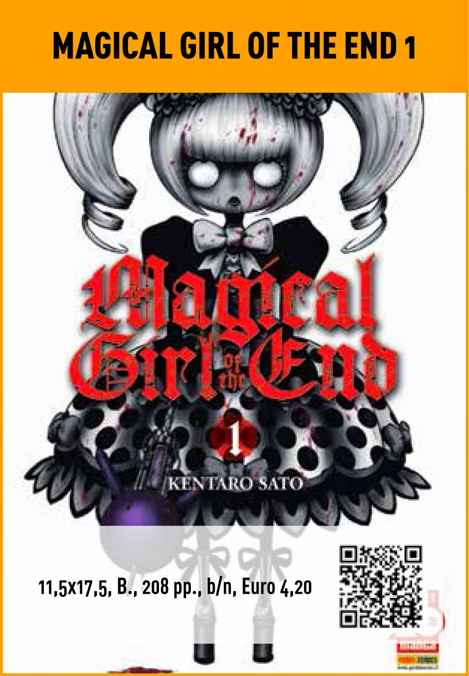 Magical girl of the end #1