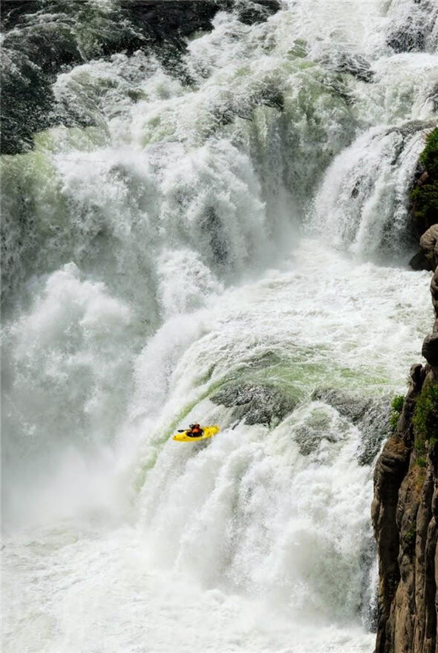 White water kayaking in Chile