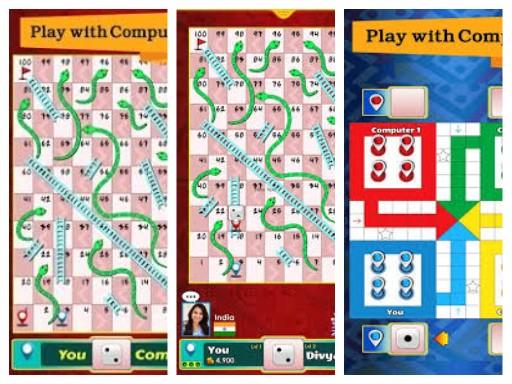 لعبة ليدو للكمبيوتر