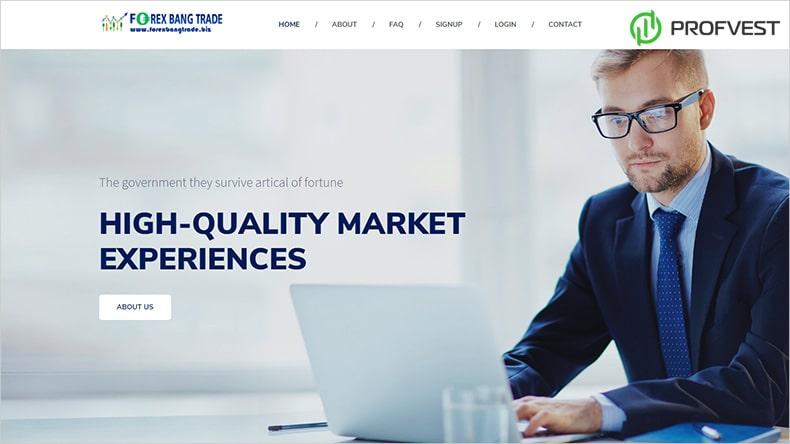 Forex Bang Trade обзор и отзывы HYIP-проекта