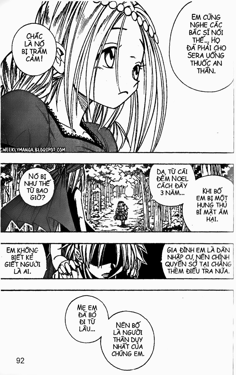 Shaman King [Vua pháp thuật] chap 158 trang 8