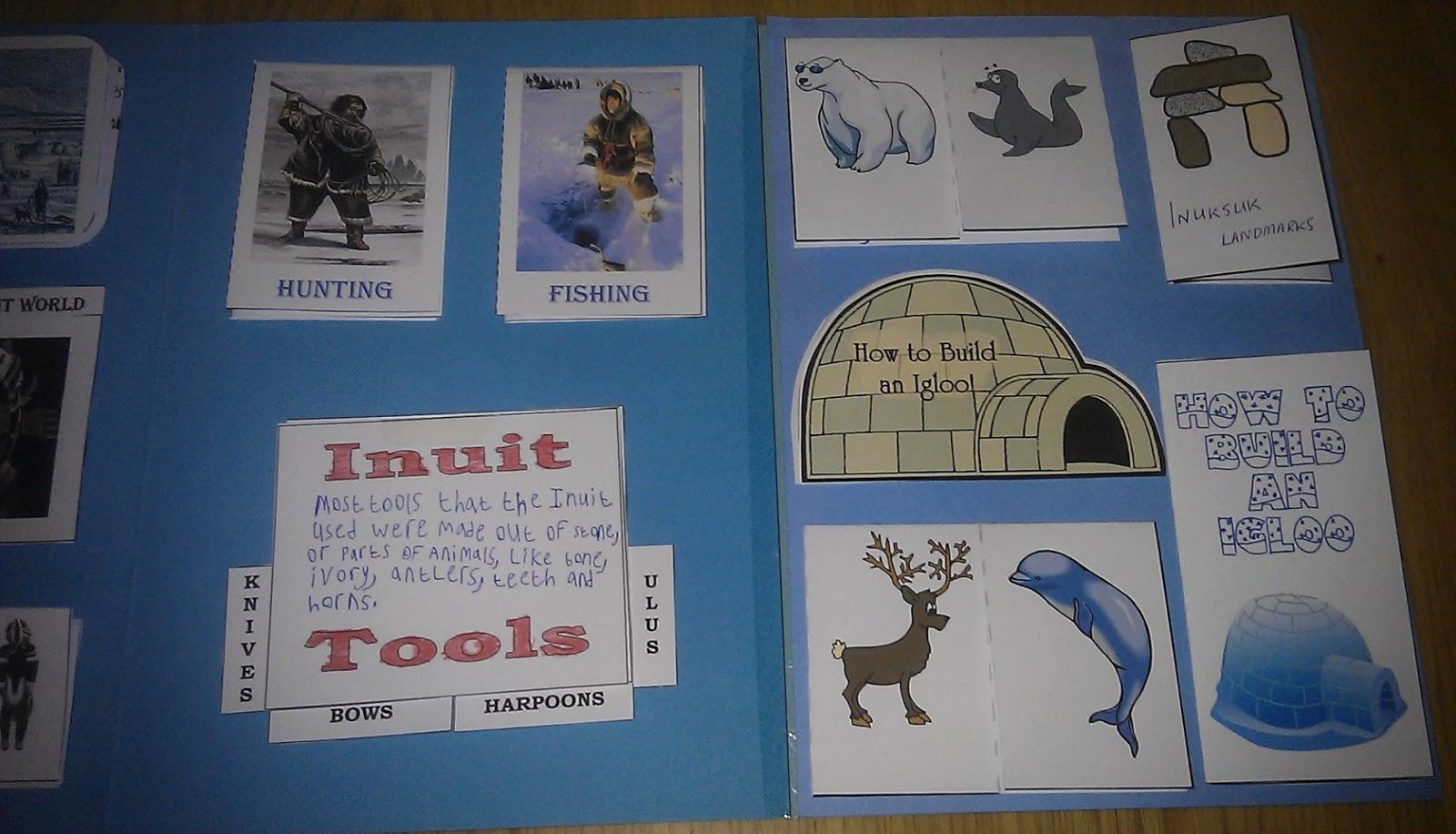 Iman S Home School Inuit Amp Eskimo Lapbook