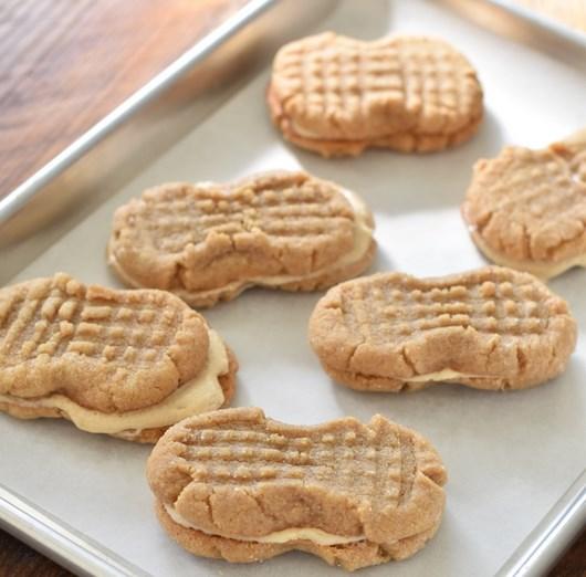 Homemade Nutter Butters #cookies #dessert