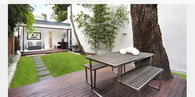Tips Menata Taman Belakang Rumah Minimalis Di Lahan Sempit Agar Terlihat Indah Dan Menarik