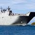 HMAS Canberra (LHD-02) RAN Australia Tiba di Tanjung Priok, Sejumlah Agenda Akan Digelar di Atas Kapal