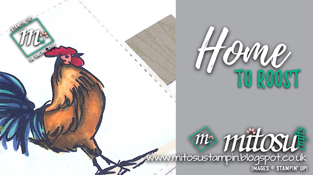 Stampin' Up! Home To Roost Sale-A-Bration 2019 Card Idea. Order cardmaking products from Mitosu Crafts UK Online Shop